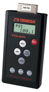 Handheld Temperature, Voltage, Current and Pressure calibrator | PCL240/CL200