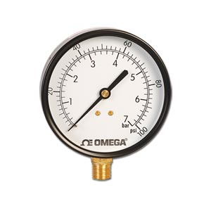 Utility Gauges For Industrial and OEM Markets Dual psi/bar Scales | PGU Series
