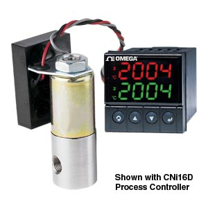 Low-cost, Electronically Controlled Proportional Valves Using Solenoid Technology, Gases Only   PV100