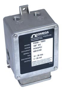 Low Pressure Industrial Transmitter   PX656