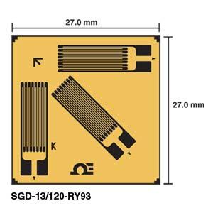Corner Rosette Strain Gauges   SGD-13/120-RY93