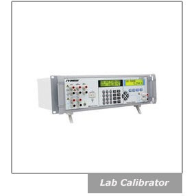 A sofisticated lab calibrator with very high accuracy