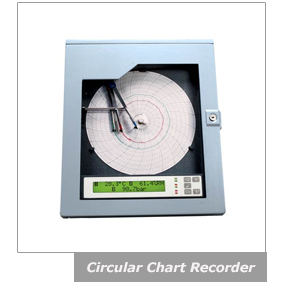 Temperature and humidity digital chart recorder