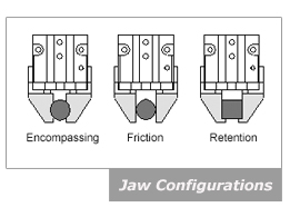 Jaw Configurations - Grippers