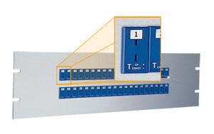 Panneau d'embase miniature de 483 mm (19 pouces) | 19MJP Series