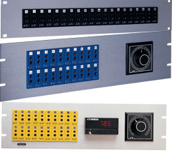 19 inch Socket Panels with Standard Thermocouple Connectors   19SJP Series