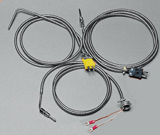 Thermocouples for Extruders - Compression Style with Stainless Steel Cable | CF Series