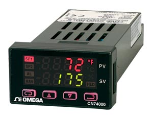 1/32 DIN Ramp and Soak Controllers | CN74000 Series
