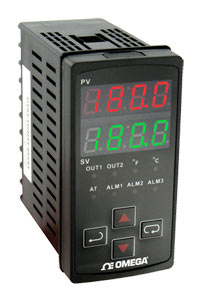 1/8 DIN Vertical Ramp/Soak Temperature/Process Controllers | CN7600 Series