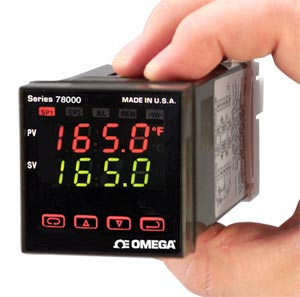 1/16 DIN Temperature/Process Controllers | CN78000 Series