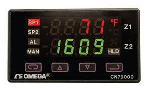 1/32 DIN-controllere med dobbeltzone | CN79000 Series