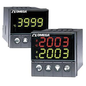 Procesní a teplotní PID regulátory s 3-barevným displejem rozměru 1/16 DIN | Série CNi16