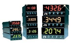 Procesní a teplotní PID regulátory s 3-barevným displejem rozměru 1/8 DIN   CNi Série