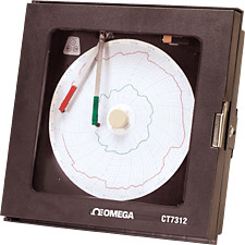 Economical 2-Pen Circular Process Recorder | CT7310, CT7311, CT7312