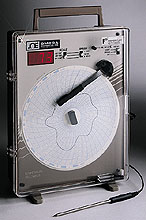 Circular Temperature Chart Recorders with Type J Thermocouple Input | CT87 Series