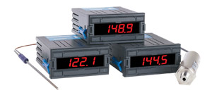 1/8 DIN  Economical Digital Meters  for Temperature, Process or Electrical Measurement | DP18 Series