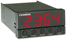 1/8 DIN Panel Meter for Pt100 Input | DP25B-RTD