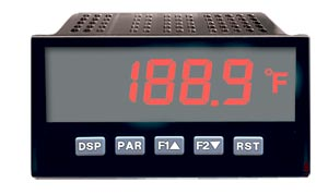1/8 DIN Digital Panel Temperature Meters For Thermocouple and RTD Inputs | DP63400-T