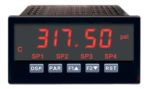 1/8 DIN Digital Panel Meters For Process Inputs | DP63800-E