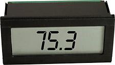 1/32 DIN digitální panelový ukazatel napájený z proudové smyčky   DP720041