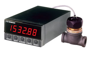 Rate and Total Meter | DPF701and DPF702