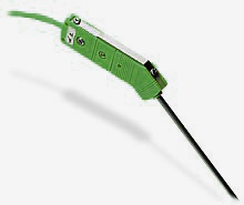 Nízkošumové termočlánkové sondy s vysokoteplotním miniaturním konektorem   Série HG(*)MQIN a HG(*)MQSS