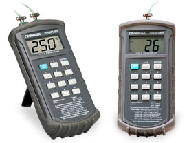 Handheld Digital Thermometers Type R and S Thermocouple, Single and Dual Input | HH501AS, HH501BS, HH501AR, HH501BR