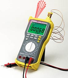 Nová generace SUPERMETER™ s laserovým zaměřováním pro bezdotykové měření teploty   HHM290