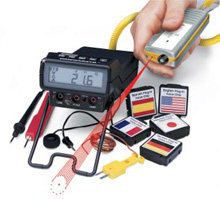 High Performance Talking Seeing Digital Multimeter Dual
