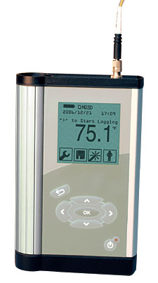 Portable Fiber Optic Data Logger Thermometer | HHTFO-101