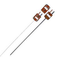 Termokoblere i MI-konstruktion med diameter 1 til 3 mm termineret med miniaturestik. | (*)MQSS Series