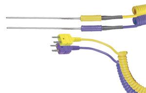 Sondy s nalisovaným spojem a kabelem zakončeným miniaturním konektorem | Série (*)TSS-HH
