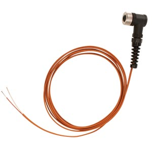 M12 Cables with Field Mountable Connectors for Thermocouples | M12CFM-TC Series