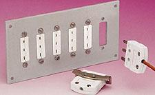 Jack Panels for  Mini 3-Prong Connectors | MTP Jack Panel Series