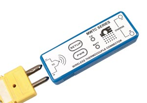 Miniaturní bezdrátové termočlánkové konektory | MWTC série