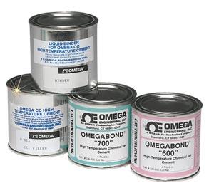Højtemperaturcement, modeller, OB-600, OB-700, CC-HIGH TEMP | OMEGABOND™ Chemical SetCement Series