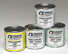 High Temperature Cements, Models, OB-300, OB-400, OB-500, | OMEGABOND® Air Set Cement Series