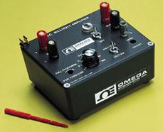 D.C. Millivolt Amplifier, Battery-Operated Laboratory Model | OMNI-AMP IIA