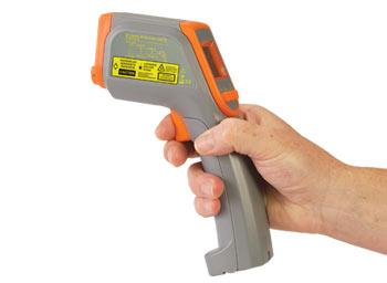 Infračervený teploměr s měřením relativní vlhkosti | OS418L