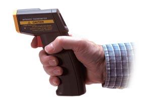 Velmi levný ruční infrateploměr | OS540 Série