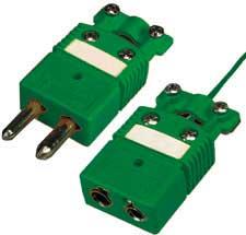 Standardní termočlánkový konektor s úchytkou kabelu | OSTW-CC série