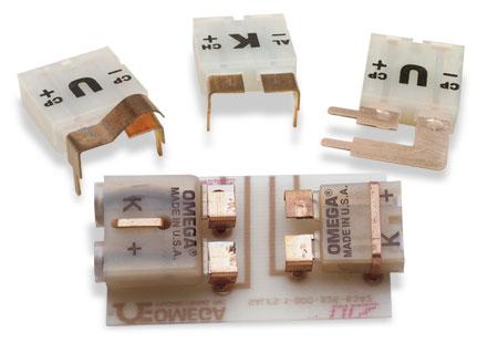 circuit board mount thermocouple connectors
