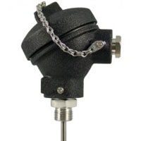 Industrial PT100 Probes with Cast Iron Protection Head | PR-12A