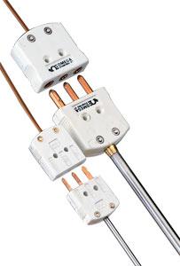 Odporové teploměry Pt100 se standardním konektorem | PR-13