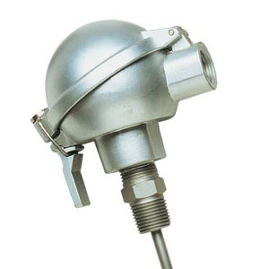Industrial Pt100 Probes with Sub-Miniature Aluminium Protection Head | PR-19A