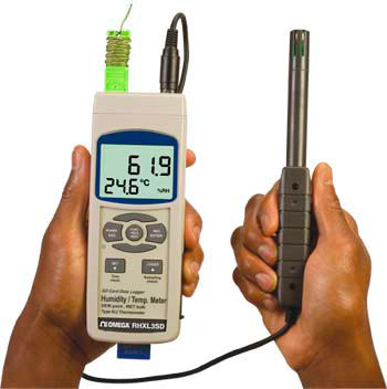 Thermomètre/hygromètre portable | RHXL3SD