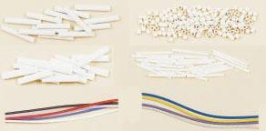 Ceramic Beads, PFA and Fiberglass Sleeving | SH, DH, OV, FS, FBGS, TF Series