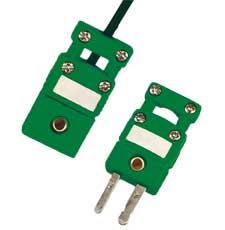 Miniaturní termočlánkový konektor s úchytkou kabelu | SMPW-CC série