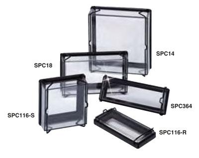 Splash proof IP65 covers for panel meters