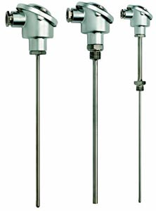 Ensembles Pt100 & thermocouple avec têtes B din, pour applications industrielles | Séries B-P, B-J, B-K, B-T, B-N